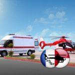 Медицинская авиация в Латвии